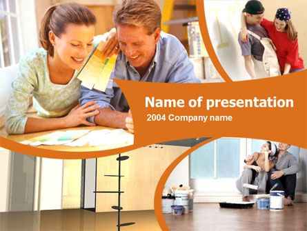 Home Planning Ideas PowerPoint Template