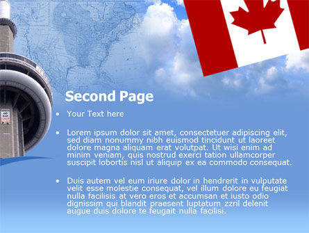 Canada PowerPoint Template Slide 2
