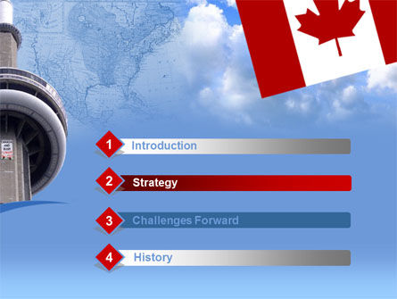Canada PowerPoint Template Slide 3