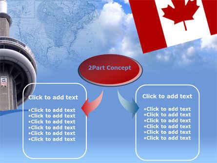 Canada PowerPoint Template, Slide 4, 00170, Flags/International — PoweredTemplate.com
