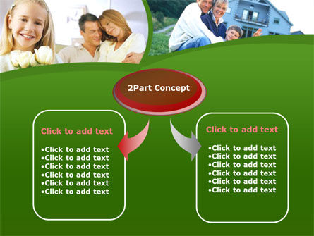 Family Home PowerPoint Template, Slide 4, 00171, Real Estate — PoweredTemplate.com