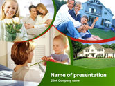 Real Estate: Family Home PowerPoint Template #00171