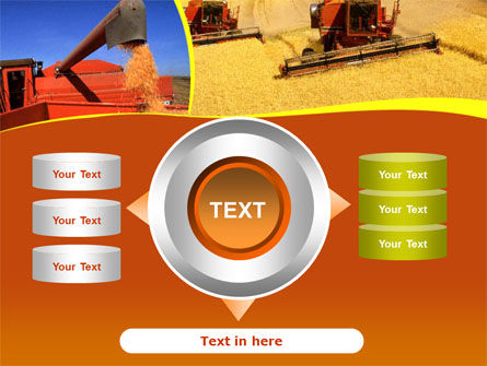 Wheat Harvesting PowerPoint Template Slide 12