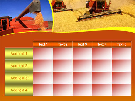 Wheat Harvesting PowerPoint Template Slide 15
