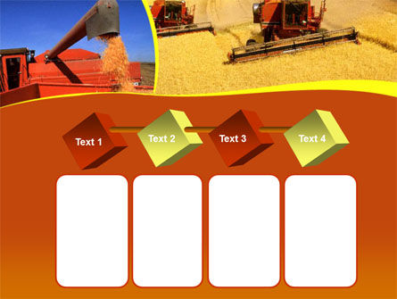 Wheat Harvesting PowerPoint Template Slide 18