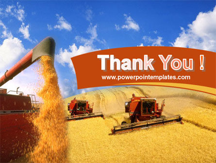 Wheat Harvesting PowerPoint Template Slide 20