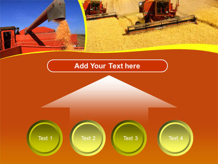 Wheat Harvesting PowerPoint Template Slide 8