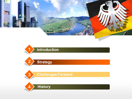 Germany PowerPoint Template, Slide 3, 00173, Flags/International — PoweredTemplate.com