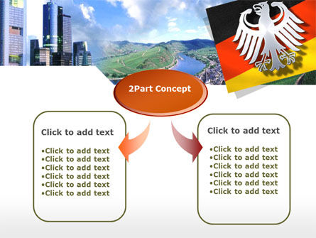Germany PowerPoint Template, Slide 4, 00173, Flags/International — PoweredTemplate.com
