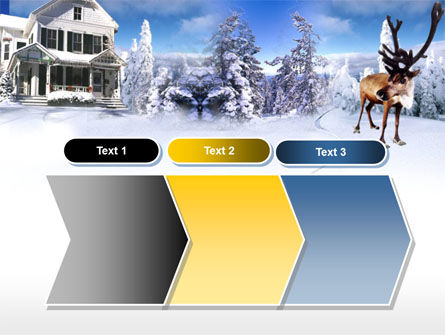 Christmas Deer PowerPoint Template Slide 16