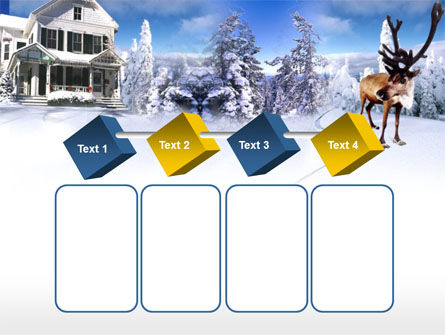 Christmas Deer PowerPoint Template Slide 18