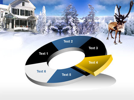 Christmas Deer PowerPoint Template Slide 19