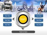 Christmas Deer PowerPoint Template#12
