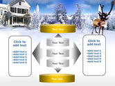 Christmas Deer PowerPoint Template#13