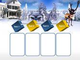 Christmas Deer PowerPoint Template#18