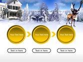 Christmas Deer PowerPoint Template#5