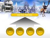 Christmas Deer PowerPoint Template#8