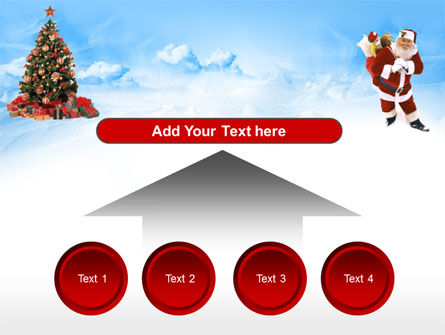 Christmas  Xmas Free PowerPoint Template Slide 8