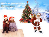 Free PowerPoint Backgrounds: Christmas  Xmas Free PowerPoint Template #00176