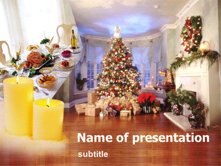 New Year PowerPoint Template, 00177, Holiday/Special Occasion — PoweredTemplate.com
