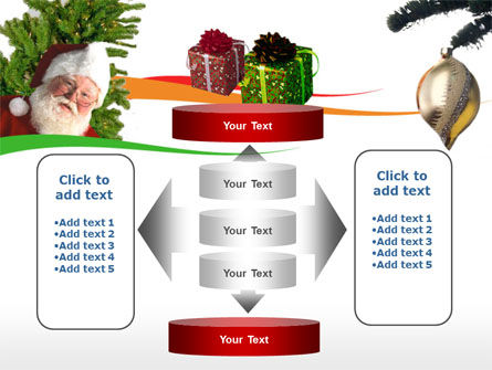 Santa Claus PowerPoint Template Slide 13