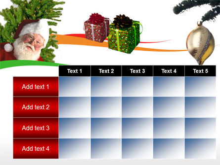 Santa Claus PowerPoint Template Slide 15