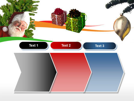 Santa Claus PowerPoint Template Slide 16