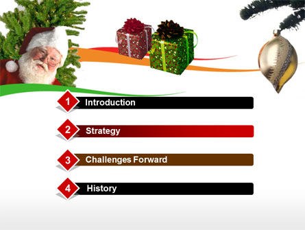 Santa Claus PowerPoint Template, Slide 3, 00178, Holiday/Special Occasion — PoweredTemplate.com