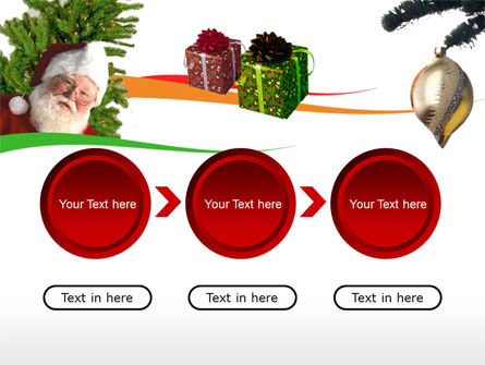 Santa Claus PowerPoint Template Slide 5