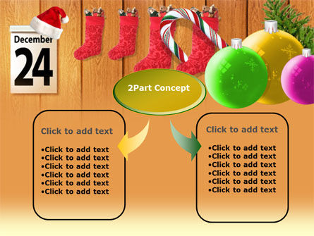 25th December PowerPoint Template, Slide 4, 00179, Holiday/Special Occasion — PoweredTemplate.com