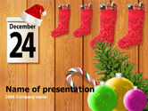 Holiday/Special Occasion: Modello PowerPoint - 25 dicembre #00179