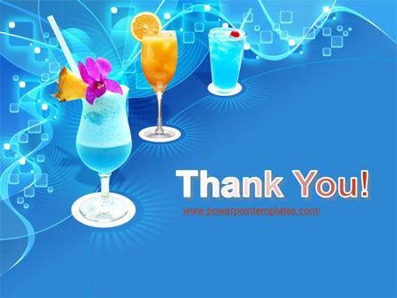 Party Cocktails PowerPoint Template Slide 20