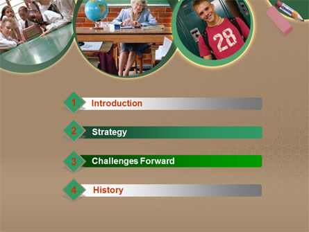 School Study PowerPoint Template, Slide 3, 00184, Education & Training — PoweredTemplate.com