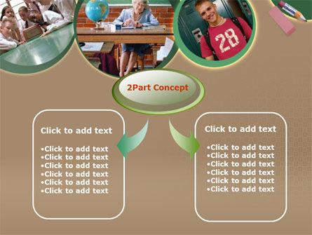 School Study PowerPoint Template, Slide 4, 00184, Education & Training — PoweredTemplate.com