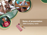 Education & Training: School Study PowerPoint Template #00184