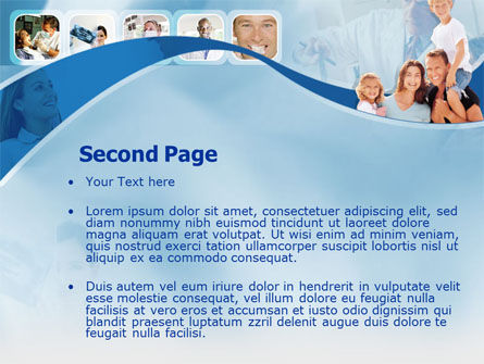 Family Health PowerPoint Template, Slide 2, 00185, Medical — PoweredTemplate.com