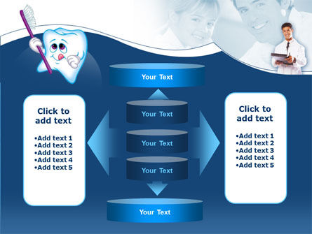 Oral Health Education PowerPoint Template Slide 13