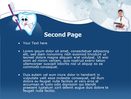 Oral Health Education PowerPoint Template Slide 2