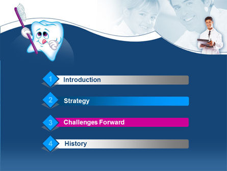 Oral Health Education PowerPoint Template Slide 3