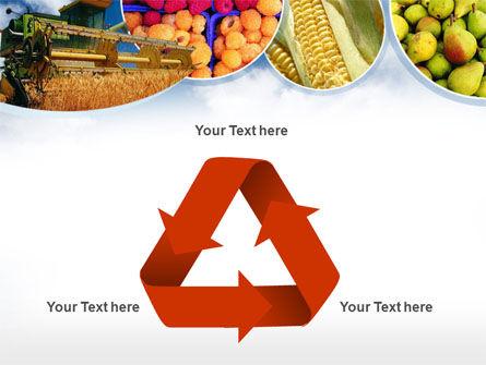 Corn Harvester PowerPoint Template Slide 10