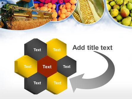 Corn Harvester PowerPoint Template Slide 11