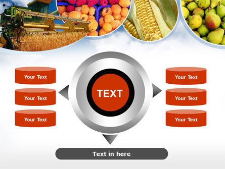 Corn Harvester PowerPoint Template Slide 12