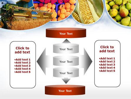 Corn Harvester PowerPoint Template Slide 13