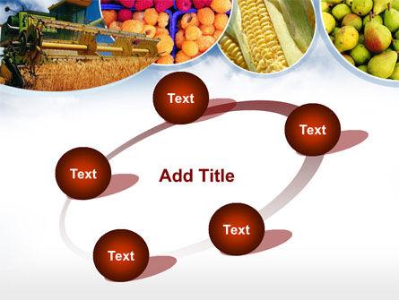 Corn Harvester PowerPoint Template Slide 14