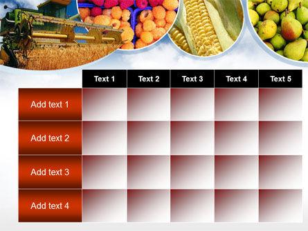 Corn Harvester PowerPoint Template Slide 15
