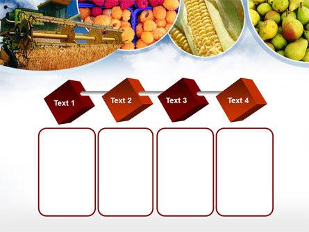 Corn Harvester PowerPoint Template Slide 18