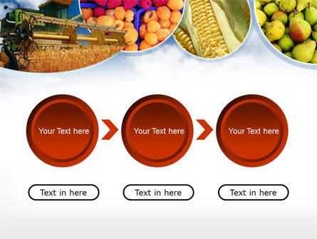 Corn Harvester PowerPoint Template Slide 5