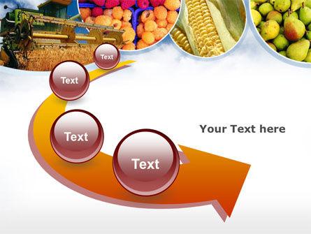 Corn Harvester PowerPoint Template Slide 6