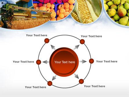 Corn Harvester PowerPoint Template Slide 7