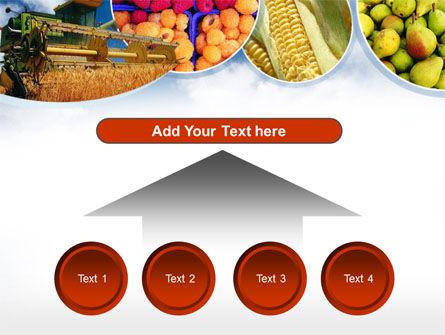 Corn Harvester PowerPoint Template Slide 8
